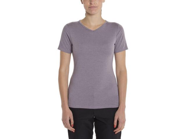 Giro Mobility T-Shirt V-Neck Women, grey ridge heather